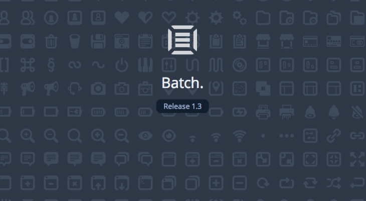 batch icons