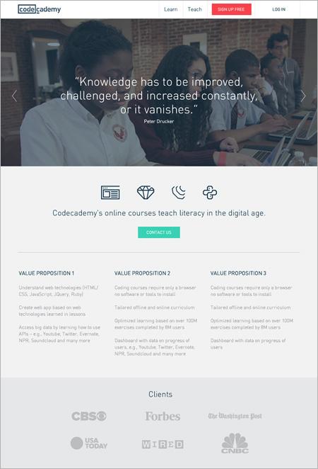 codeacademy diseño web