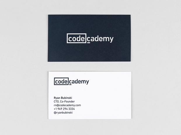 codeacademy tarjetas de presentación