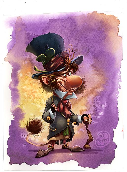 diseños de personajes brett bean 7