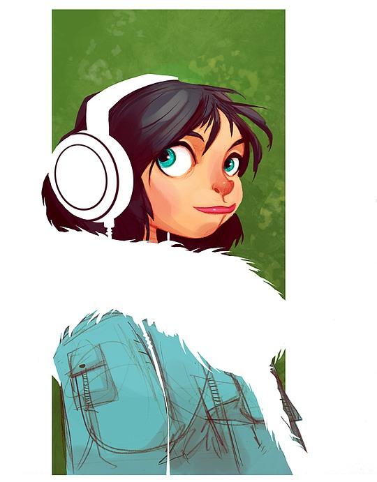 diseños de personajes brett bean 9