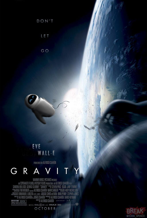 Eve Wall-e - Gravity
