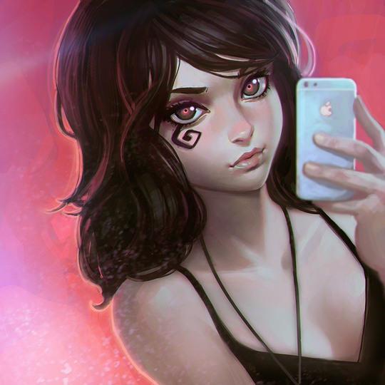 ilustraciones anime Kr0npr1nz 2