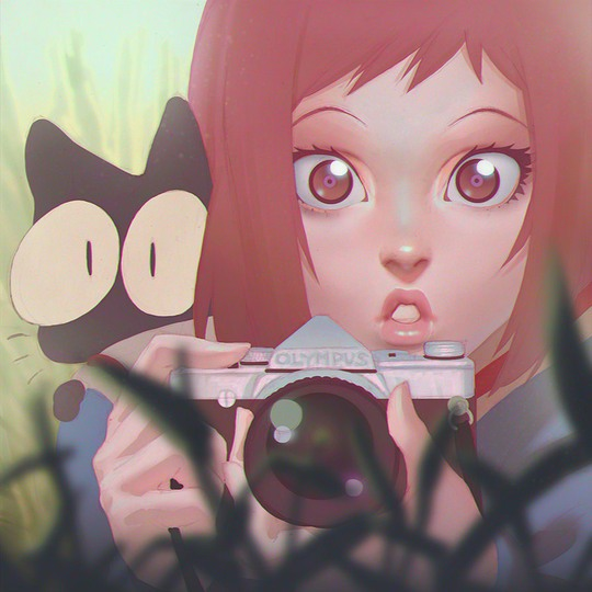 ilustraciones anime Kr0npr1nz 3