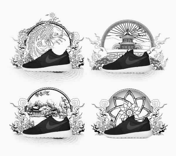 imagenes Nike Roshe Run 5