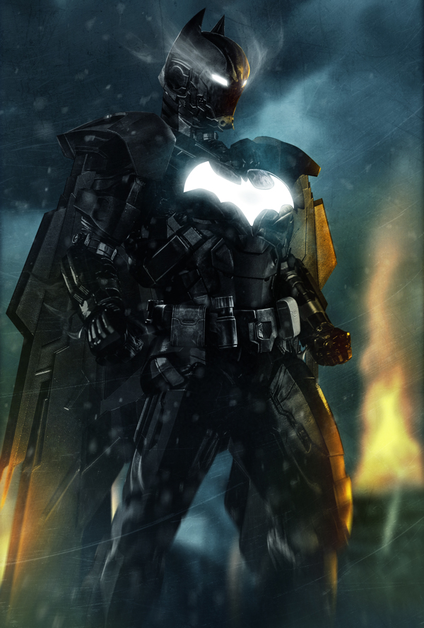 iron mash batman