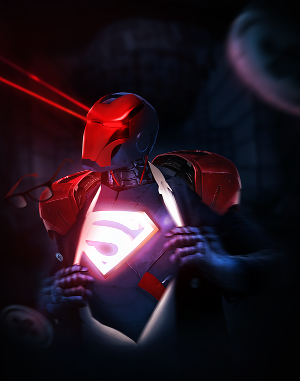 iron mash superman