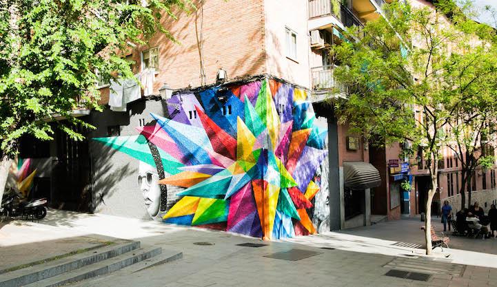 mural madrid Okudart 3