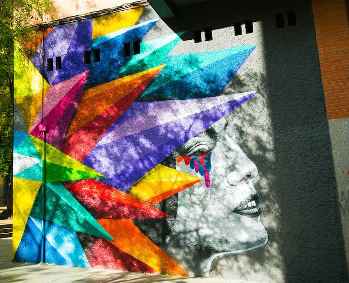 mural madrid Okudart 4