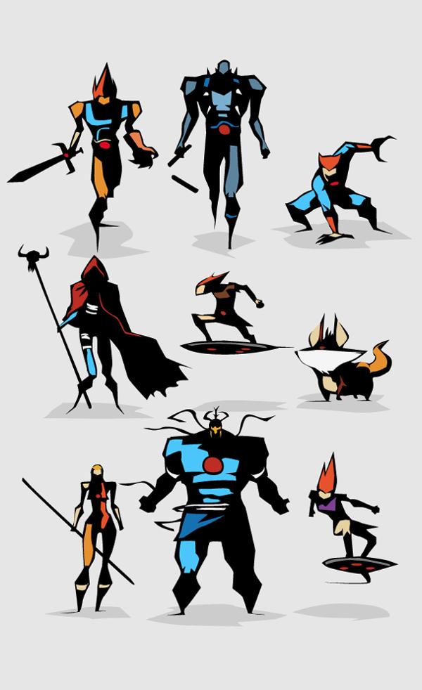 posters minimalistas bunka thundercats