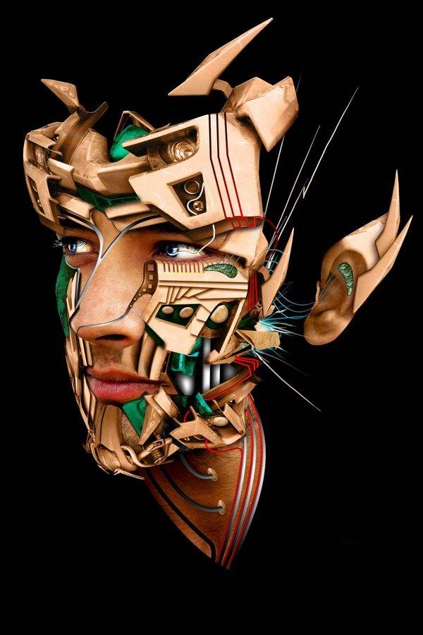 rostros mecanicos 2