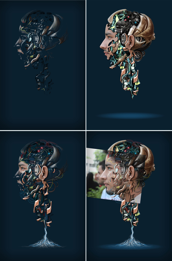 rostros mecanicos 5