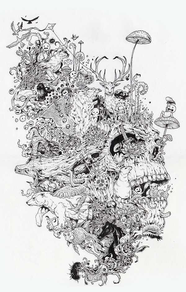 sketches Kerby Rosanes 3