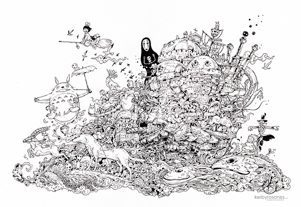 sketches Kerby Rosanes 6