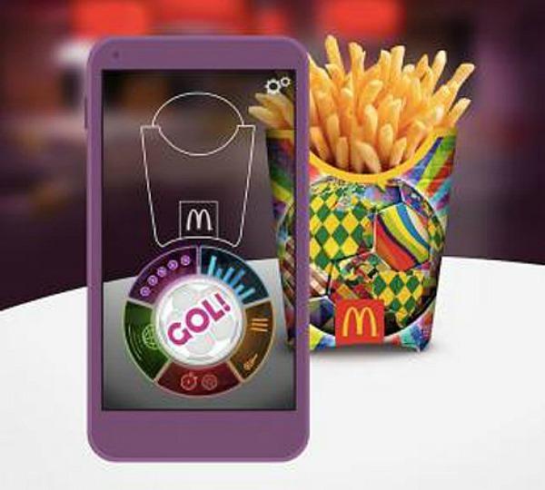 Cajitas de papas mcdonalds app