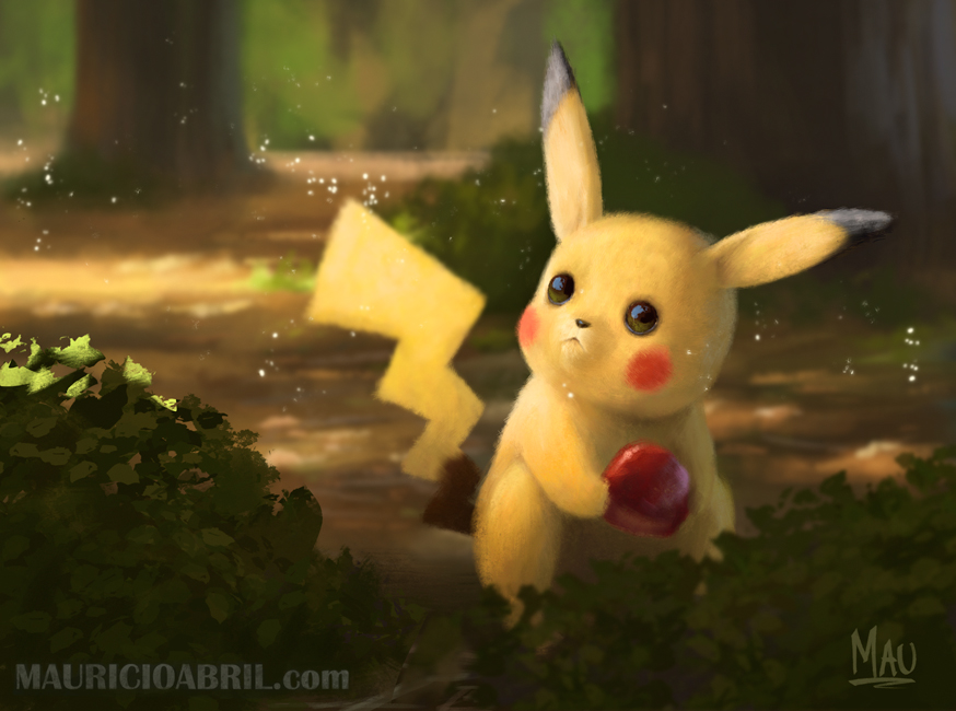 Mauricio Abril diseños pikachu