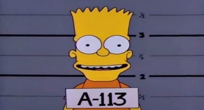 a113 los simpsons