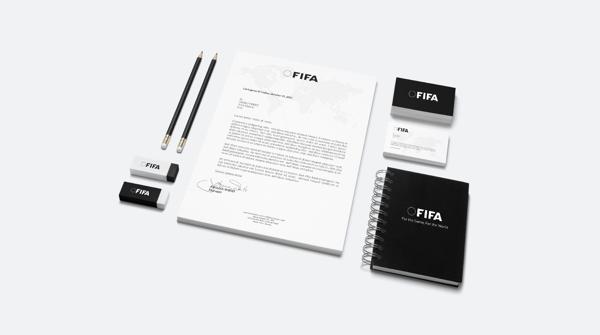 branding fifa stationary