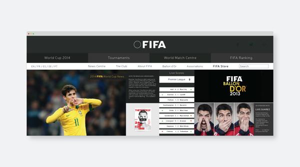 branding fifa website