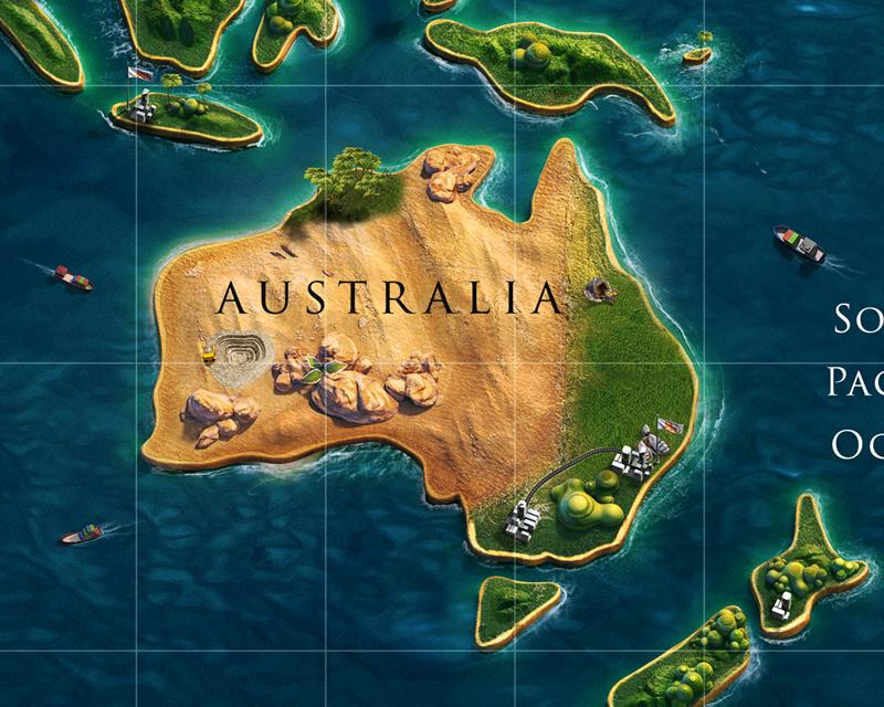 cartel publicidad ING australia
