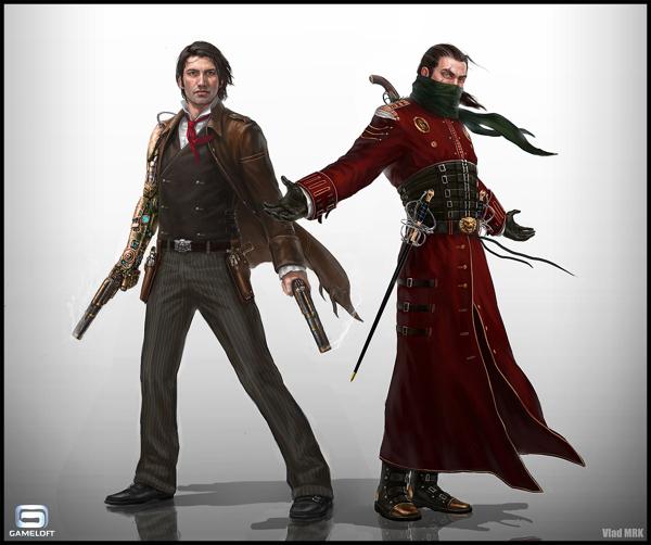 diseños de personajes Vlad MRK 7