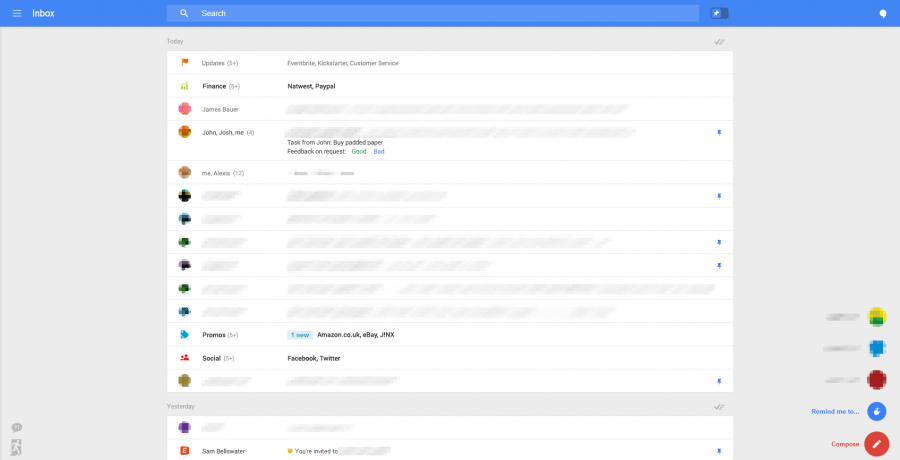 gmail nuevo diseño 1