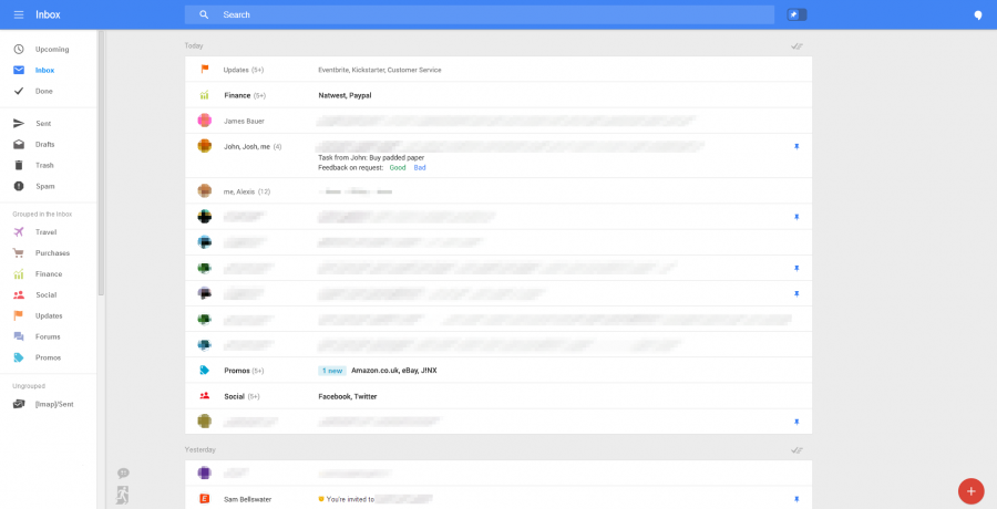 gmail nuevo diseño 2