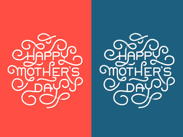 Tarjetas imprimibles para el Día de las madres