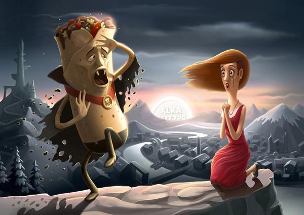ilustraciones Andrey Gordeev 8