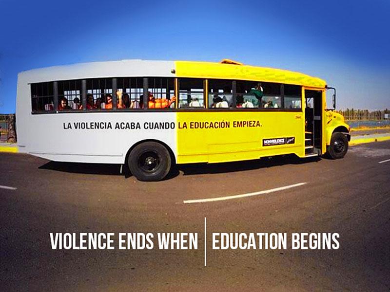 non-violence-bus