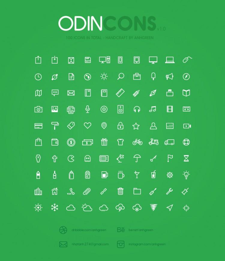 odin icons