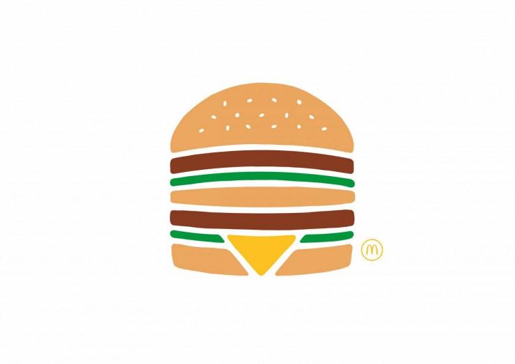 publicidad minimalista McDonalds 1