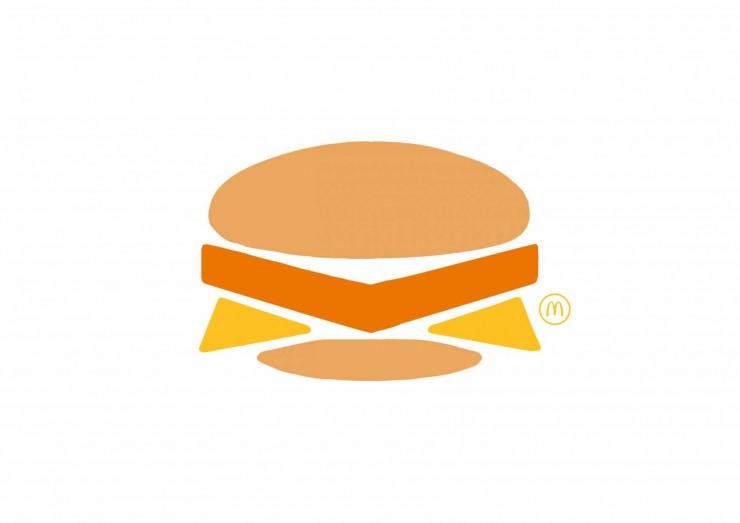 publicidad minimalista McDonalds 2