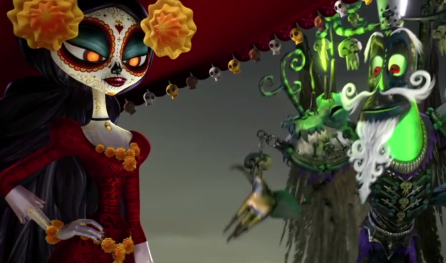 trailer the book of life