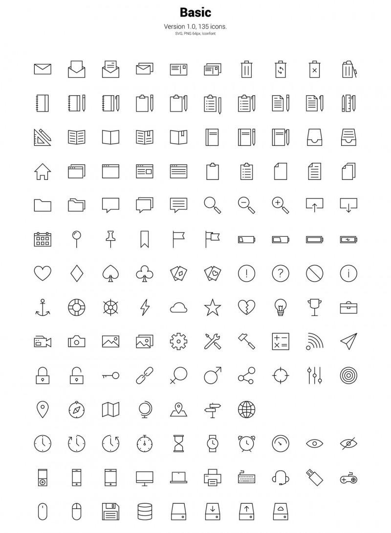 730 iconos