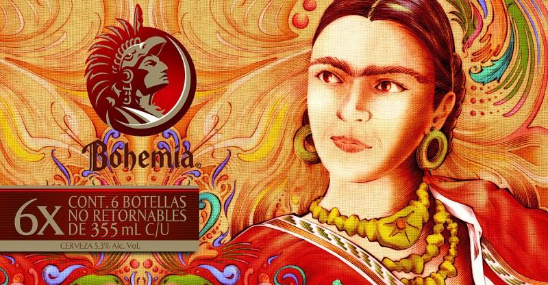 Cerveza Bohemia Frida Kahlo 2