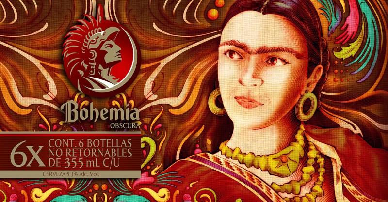 Cerveza Bohemia Frida Kahlo 3