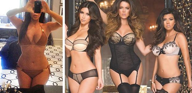 Kim, Khloe y Kourtney Kardashian
