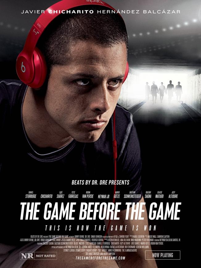 beats by dre poster chicharito Increíble comercial de Beats by Dre protagonizado por Neymar Jr.