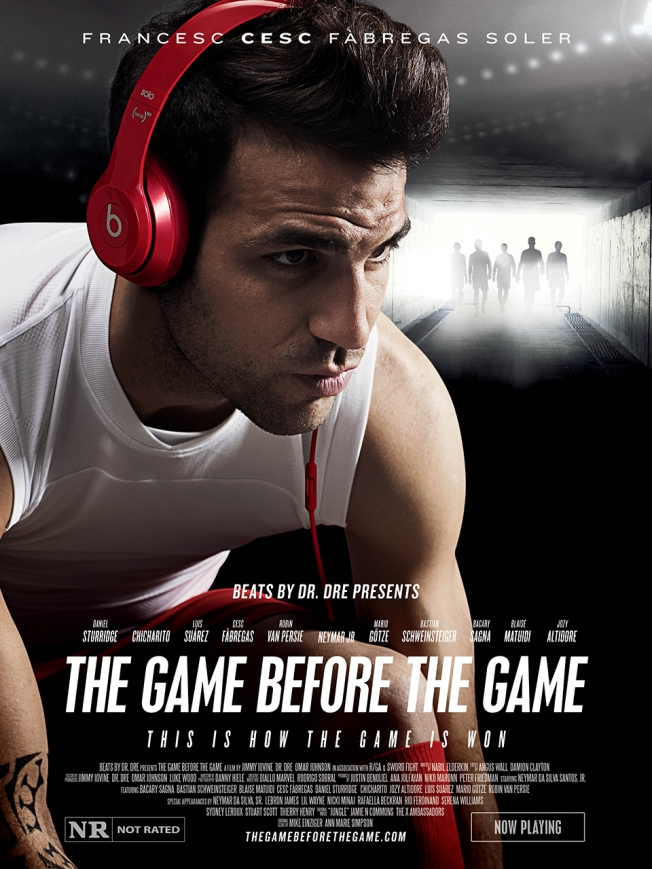 beats by dre poster fabregas