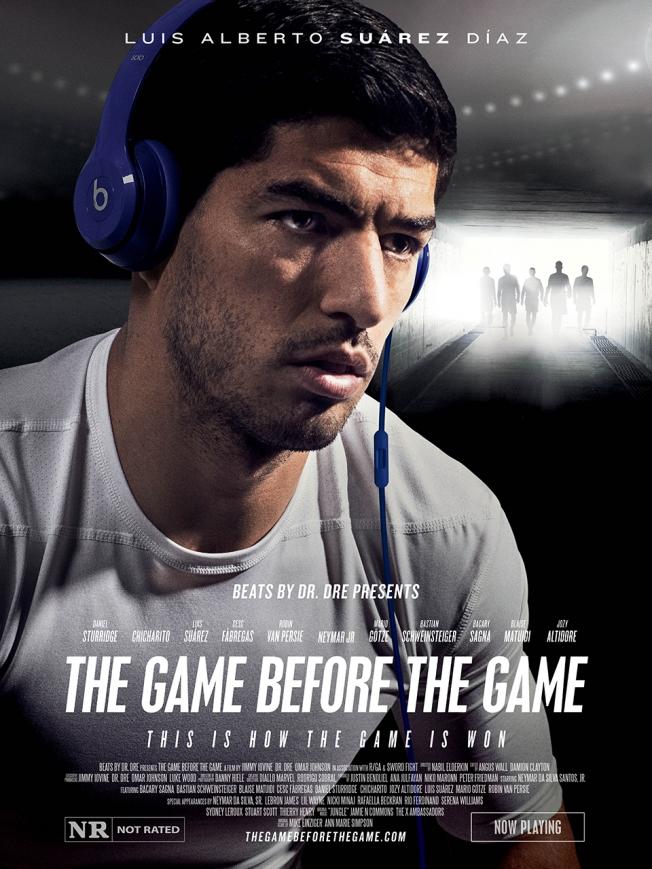 beats by dre poster luis suarez Increíble comercial de Beats by Dre protagonizado por Neymar Jr.