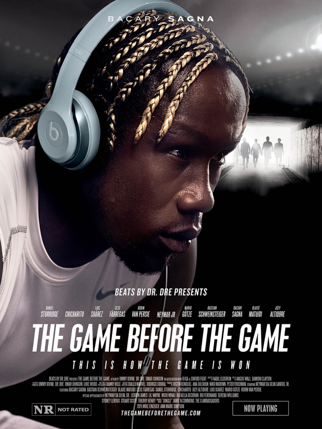 beats by dre poster sagna Increíble comercial de Beats by Dre protagonizado por Neymar Jr.