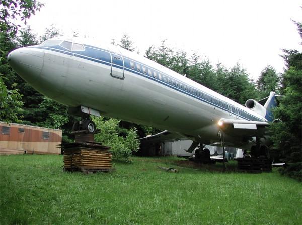 boeing 727 convertido en casa 1
