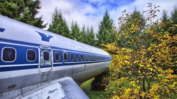 boeing 727 convertido en casa 2