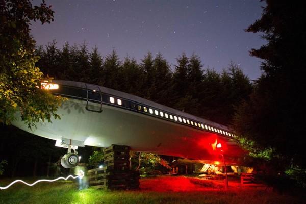 boeing 727 convertido en casa 7