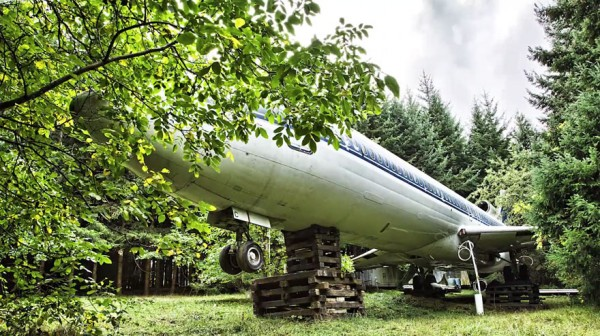 boeing 727 convertido en casa 8