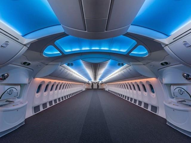boeing 737 con interiores de lujo 2