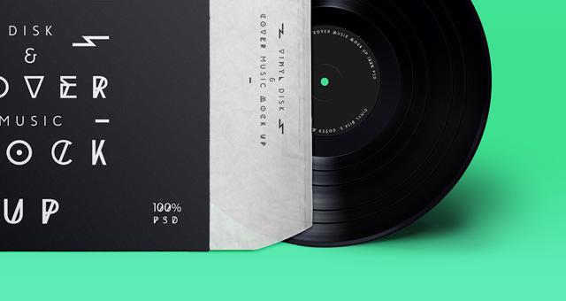 disco vinil mockup 3