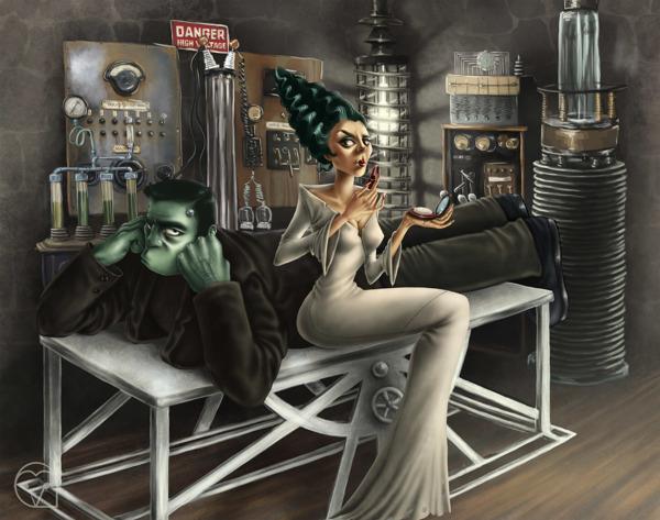 diseños de personajes por Gaia Vittozzi 2