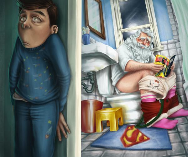 diseños de personajes por Gaia Vittozzi 3